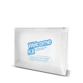 PLASTIC POUCH   WELCOME KIT RESIDENCE