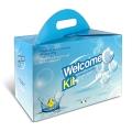 CARDBOARD BOX   WELCOME KIT
