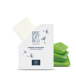 TOWELETTE with aloe