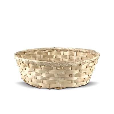 BASKET FOR HOTEL AMENITIES   bamboo