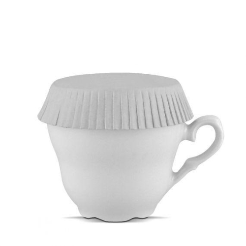 cup cover and glass   7,8 cm diameter, standard