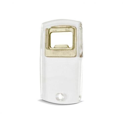transparent bottle opener   plastic, standard