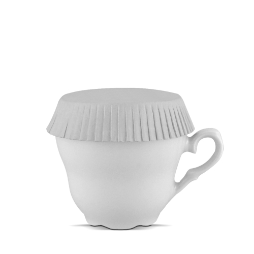 cup cover and glass   7 cm diameter, standard
