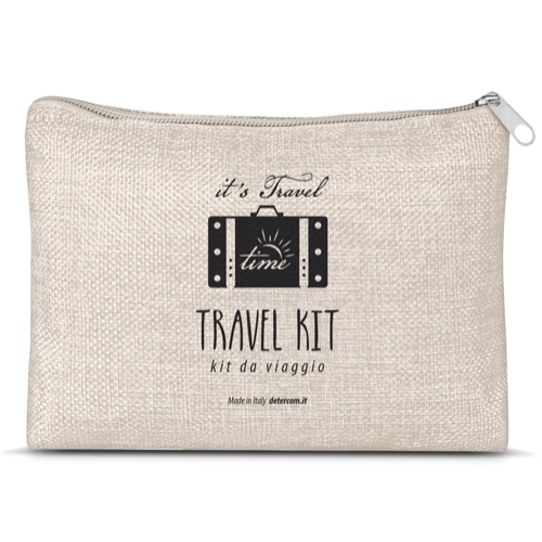pouch with zipper   travel kit standard